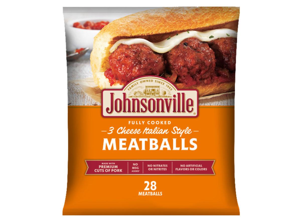 johnsonville meatballs