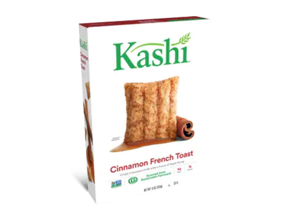 box of kashi cinnamon french toast cereal