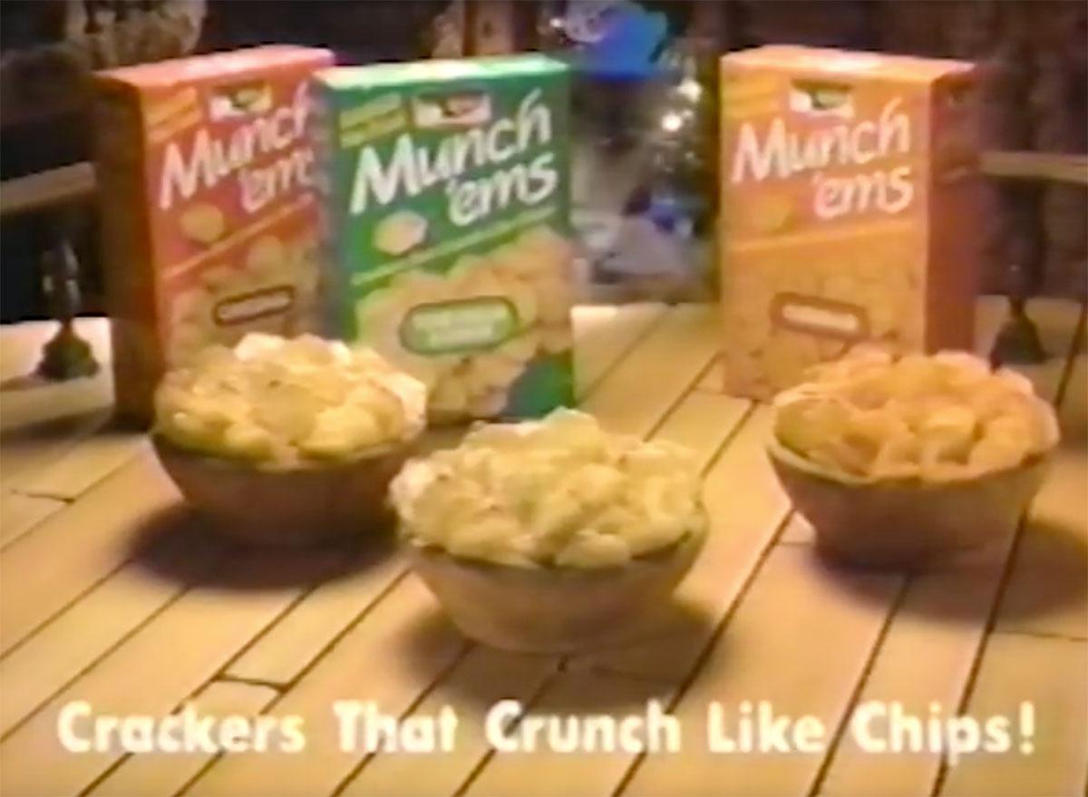 keebler munch ems cracker