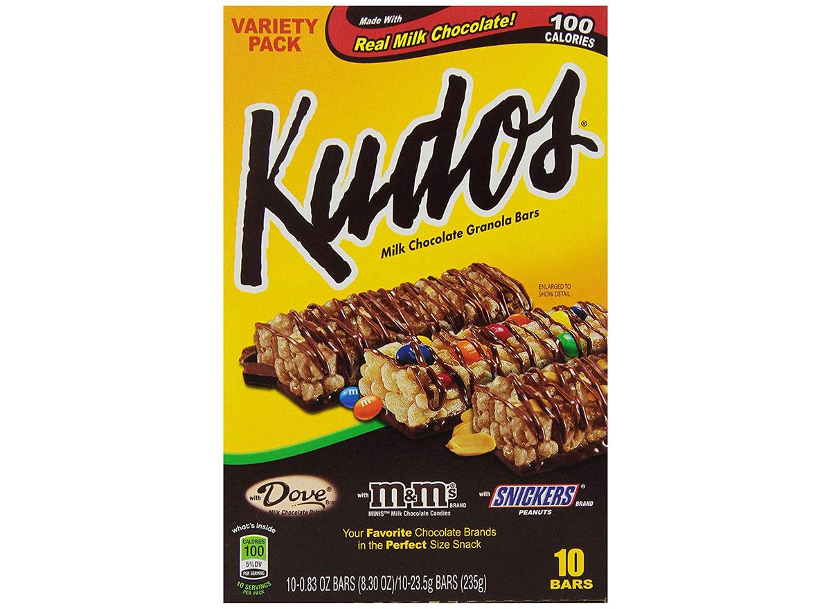 kudos granola bars