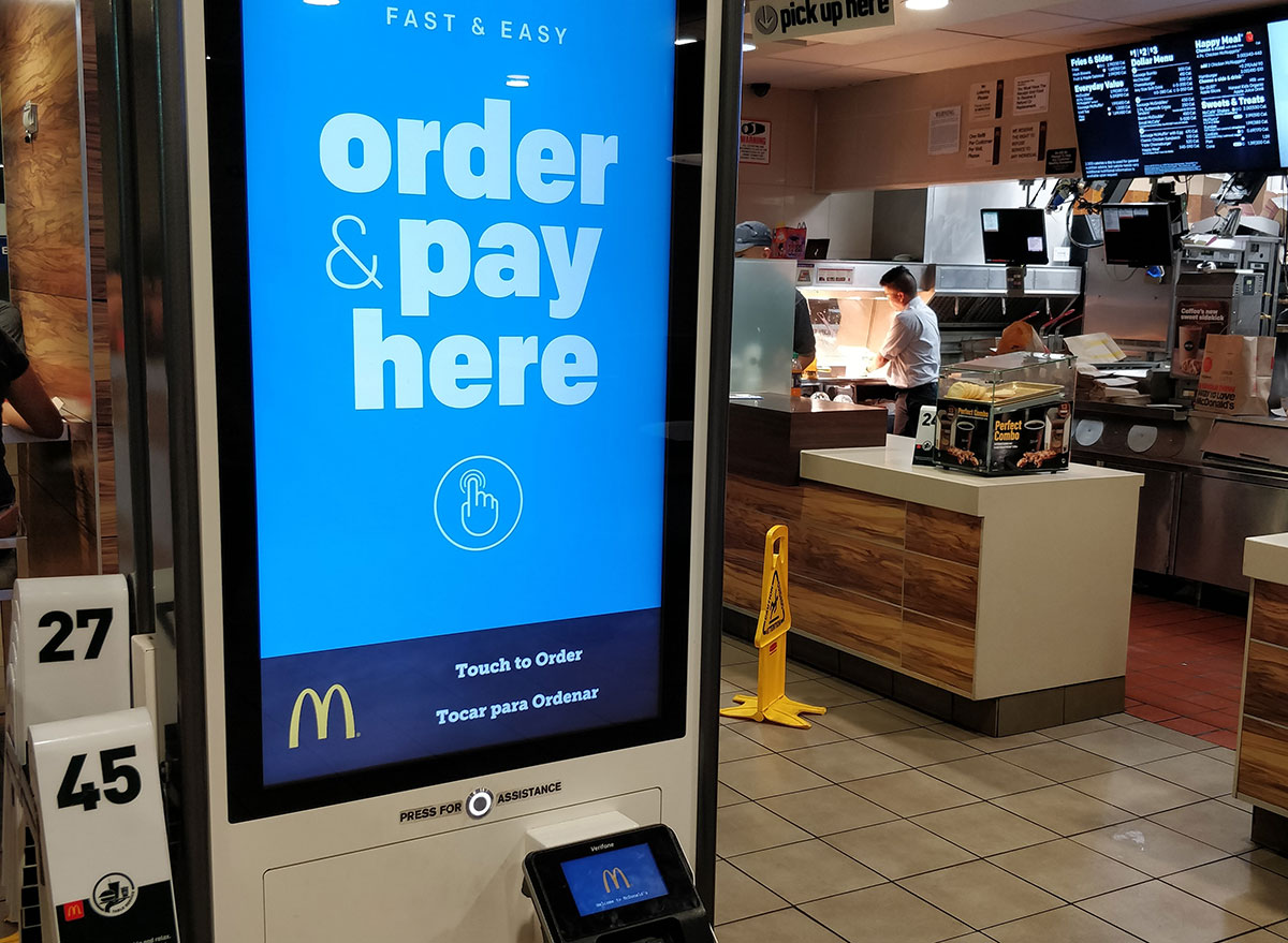 McDonalds online order