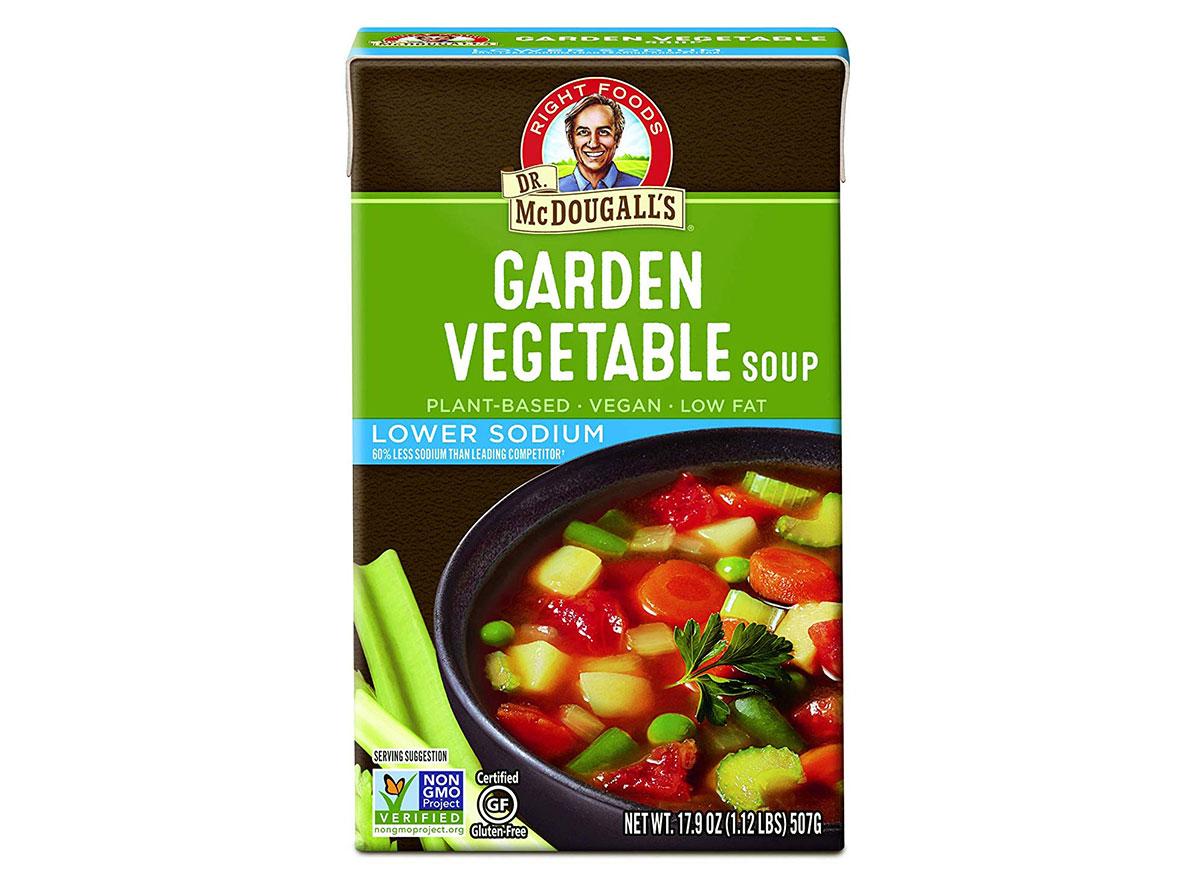 mcdougalls garden vegetable soup