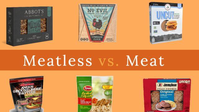 meatless vs meat