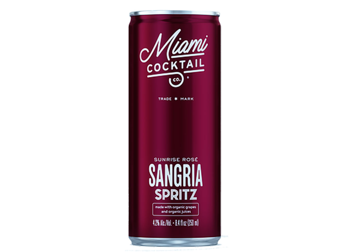 miami cocktail canned cocktails