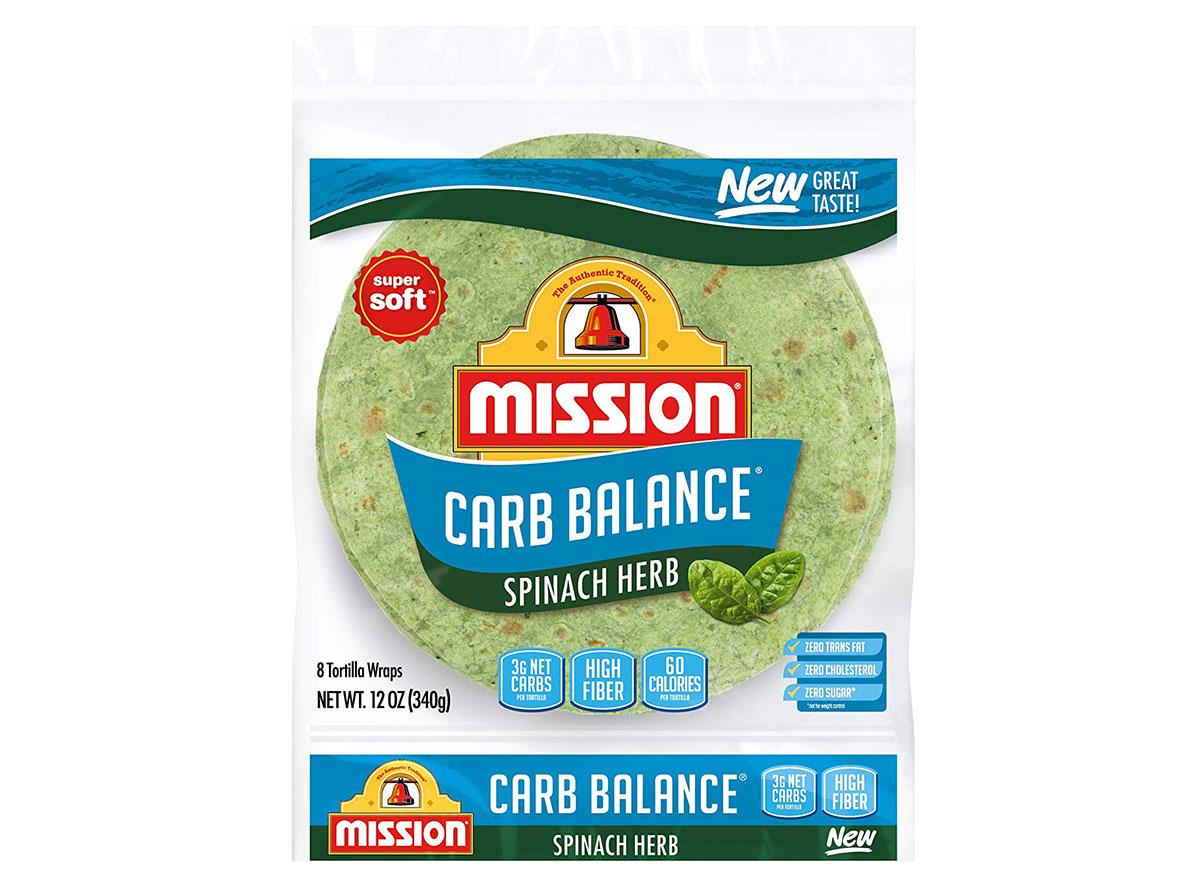 mission spainch herb tortilla