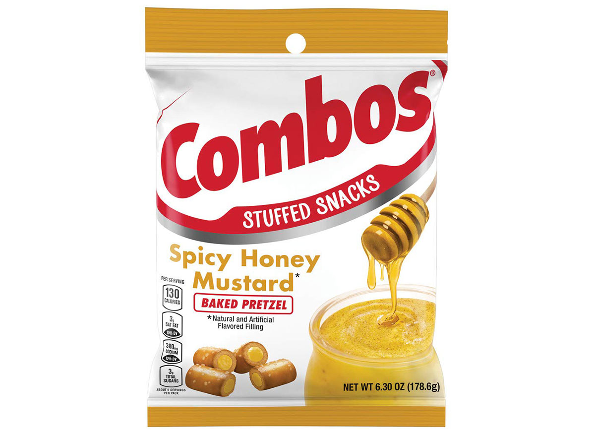 mustard pretzel combos