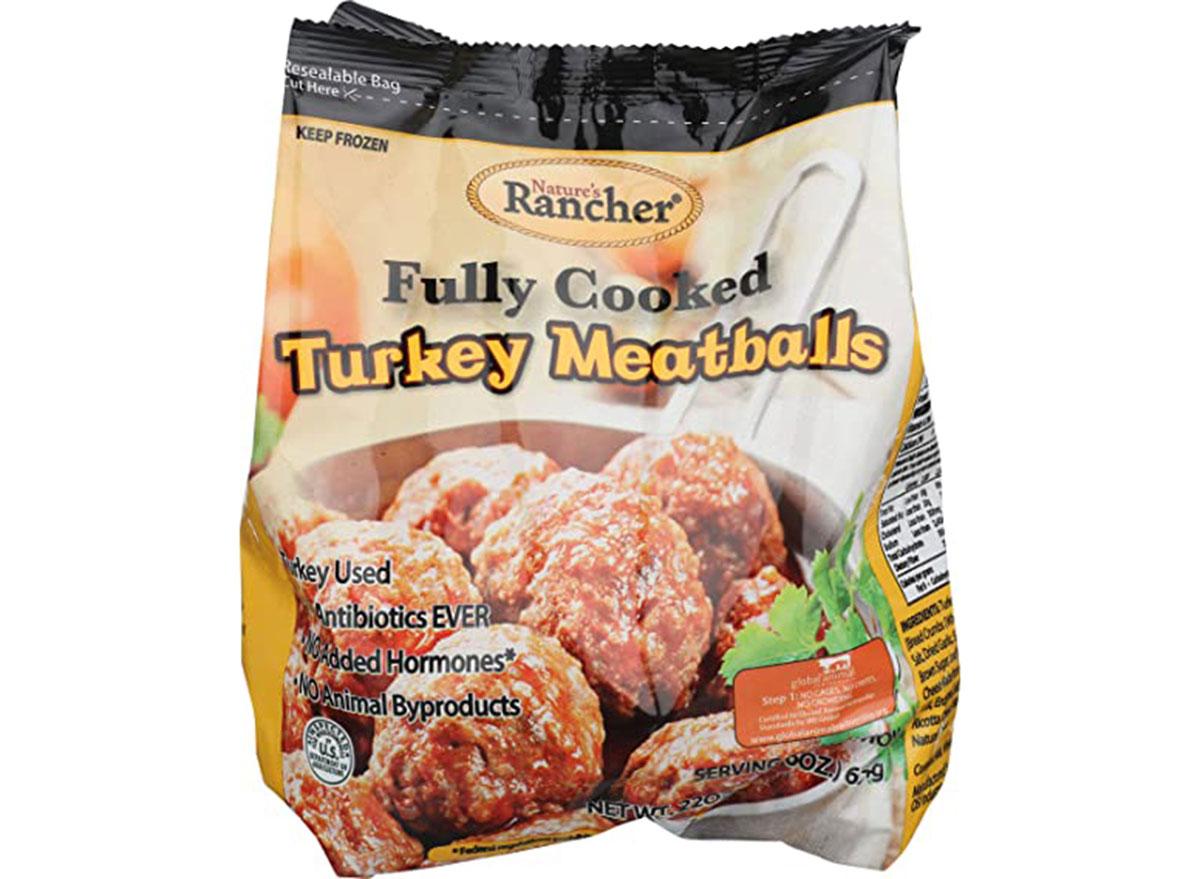 natures rancher turkey meatballs