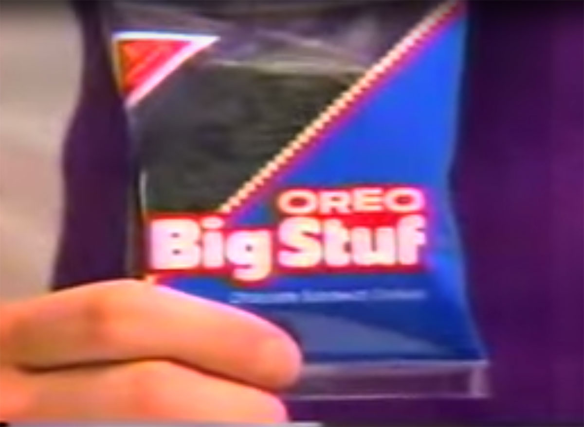 bag of oreo big stuf cookies