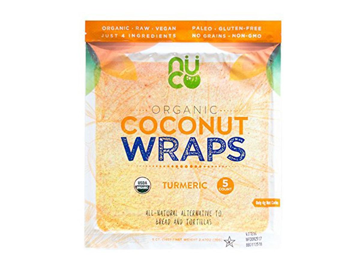 organic coconut wraps