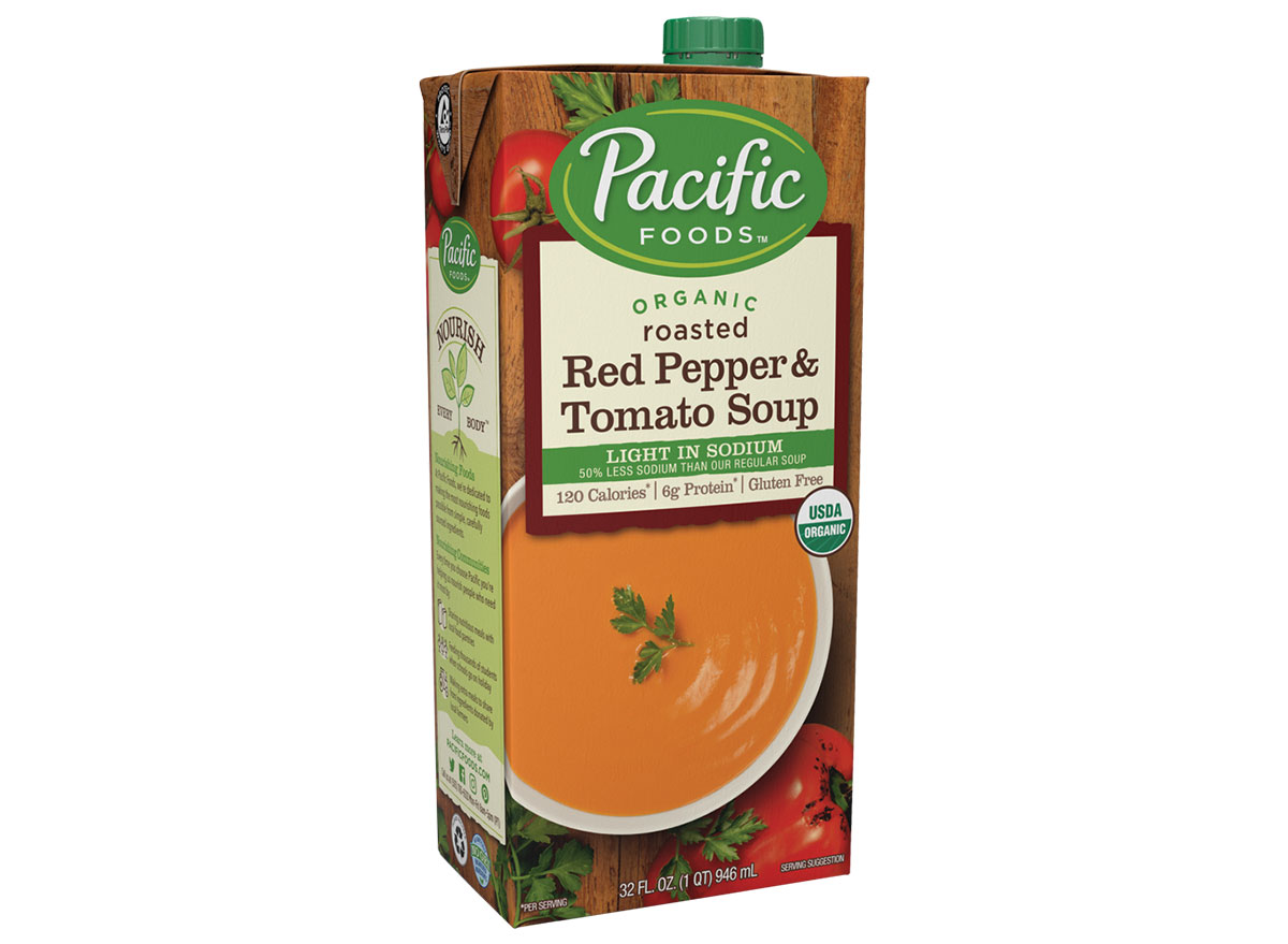 pacific foods red pepper tomato soup