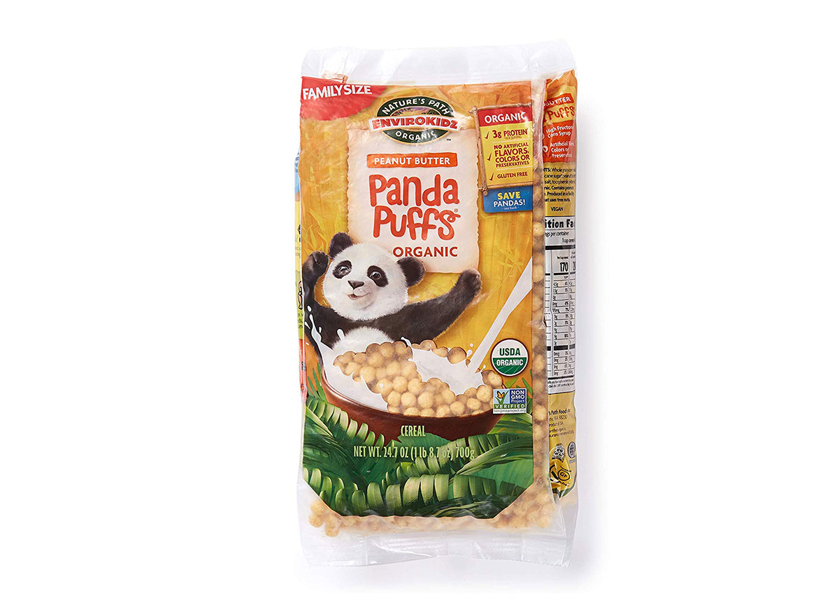 panda puffs cereal
