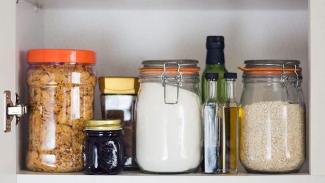 pantry stocked