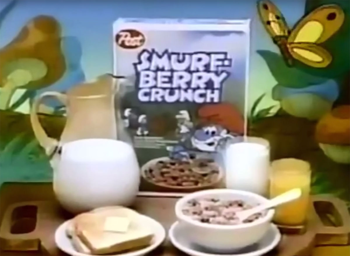 post smurf berry crunch cereal