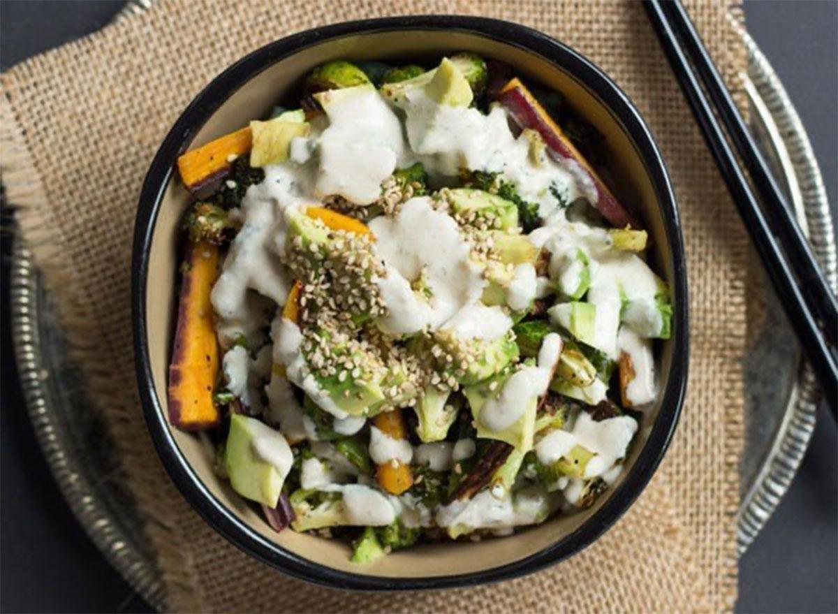 quinoa buddha bowl