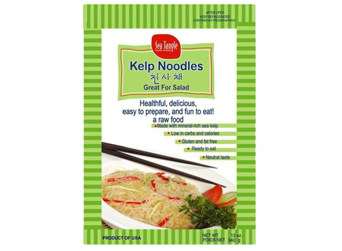 best low carb pastas sea tangle kelp noodles