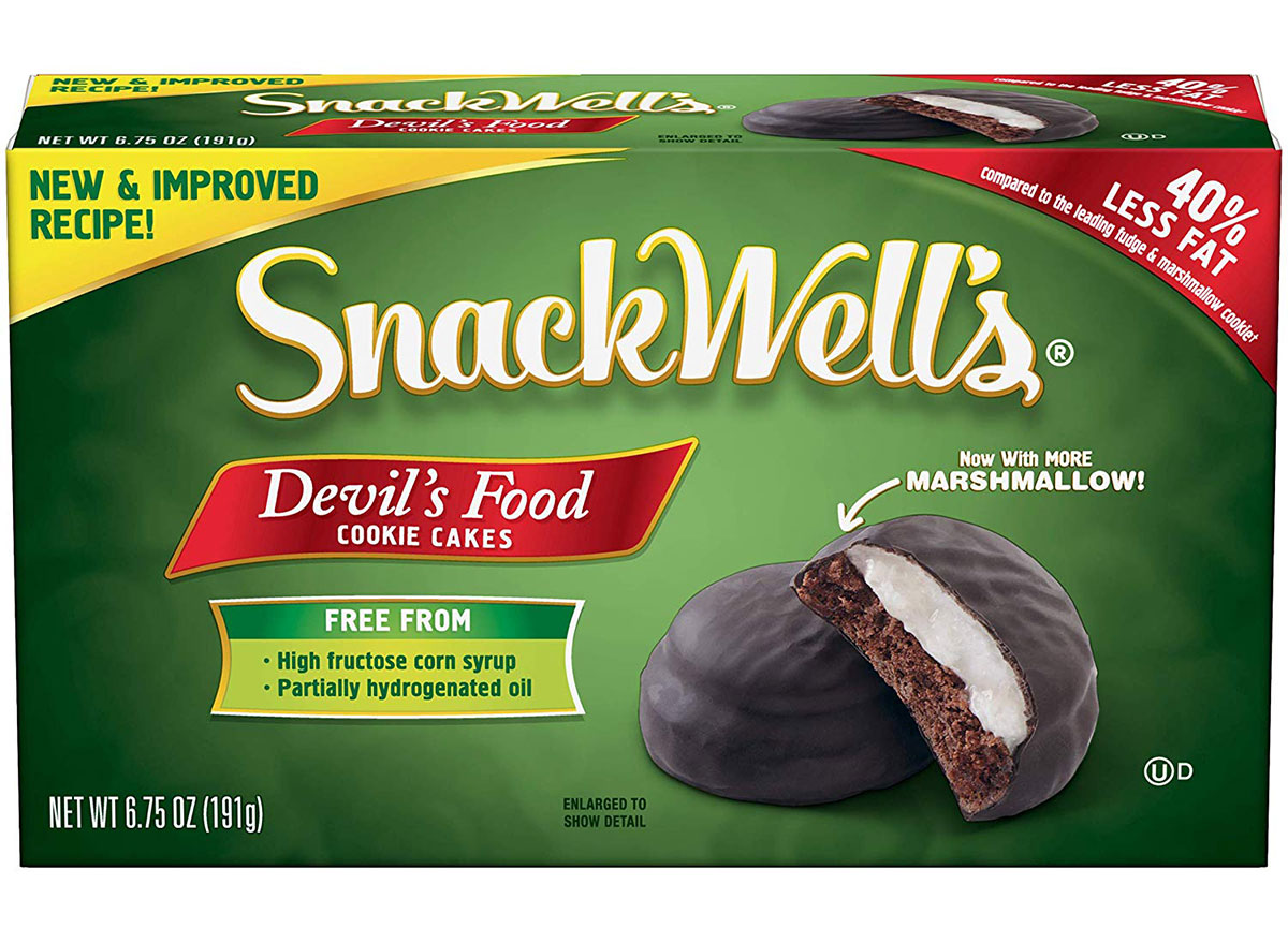 snackwells devils food cake