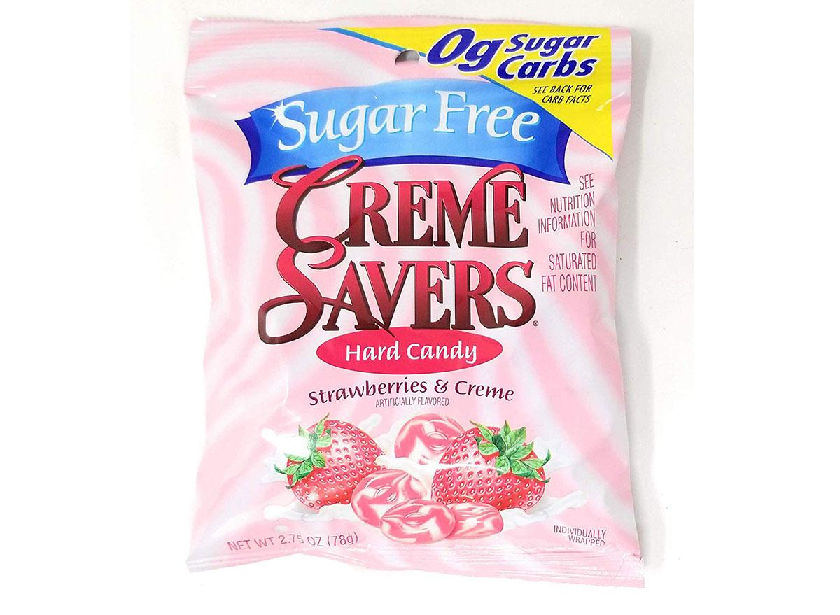 sugar-free creme savers