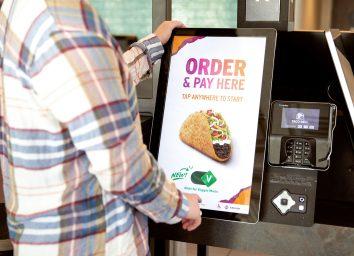 taco bell veggie mode kiosk