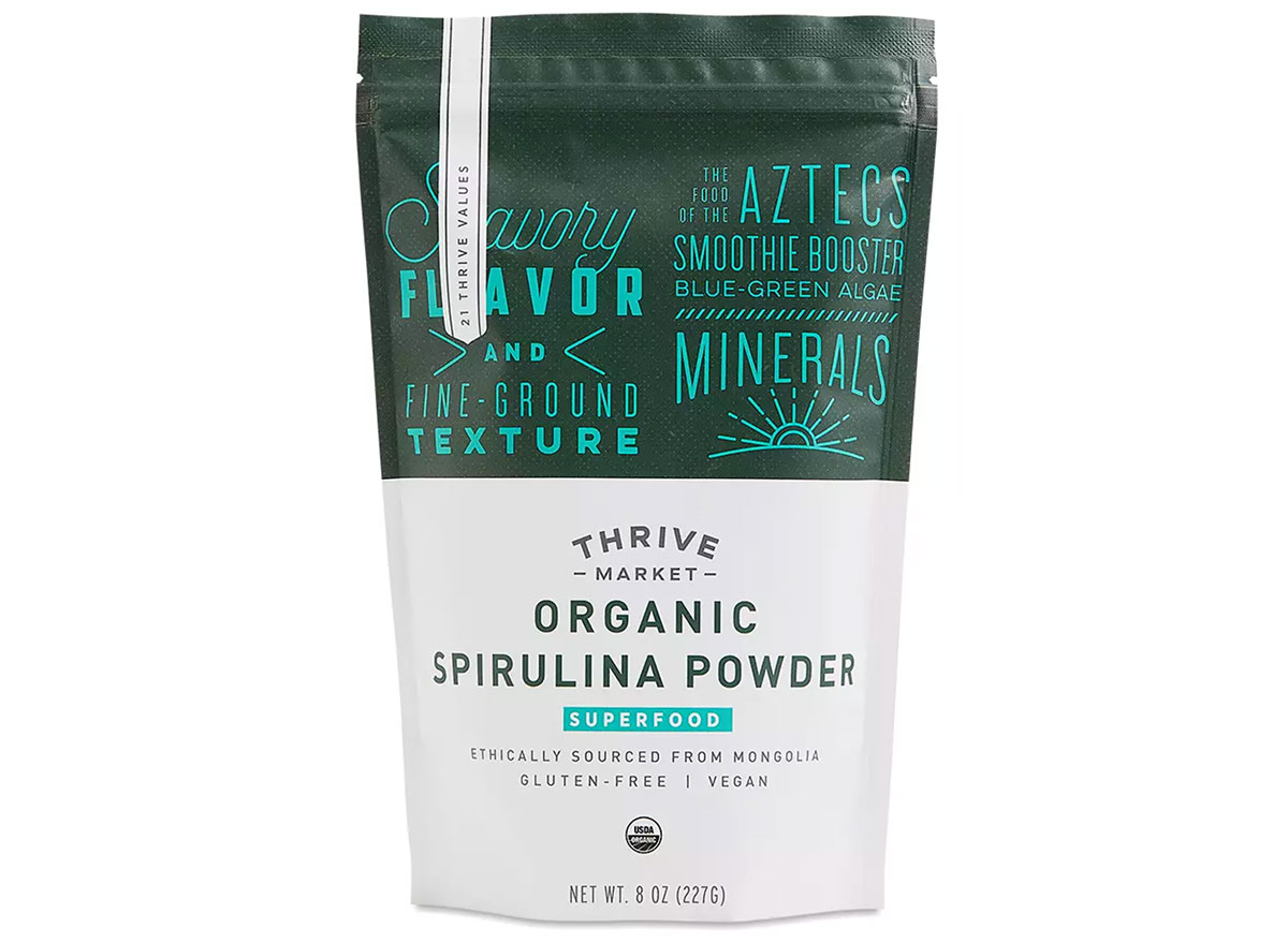 thrive market spirulina