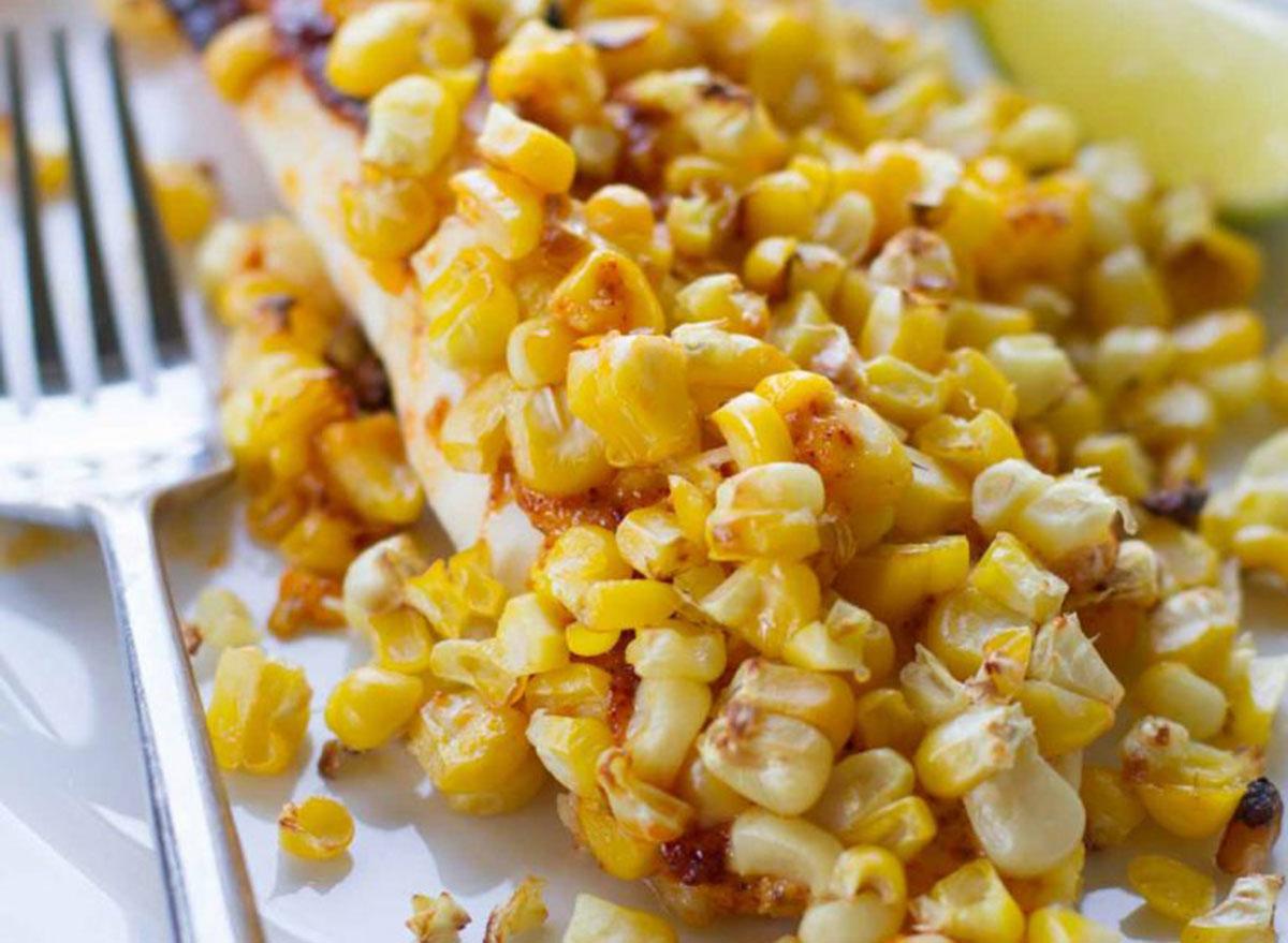 tilapia roasted corn