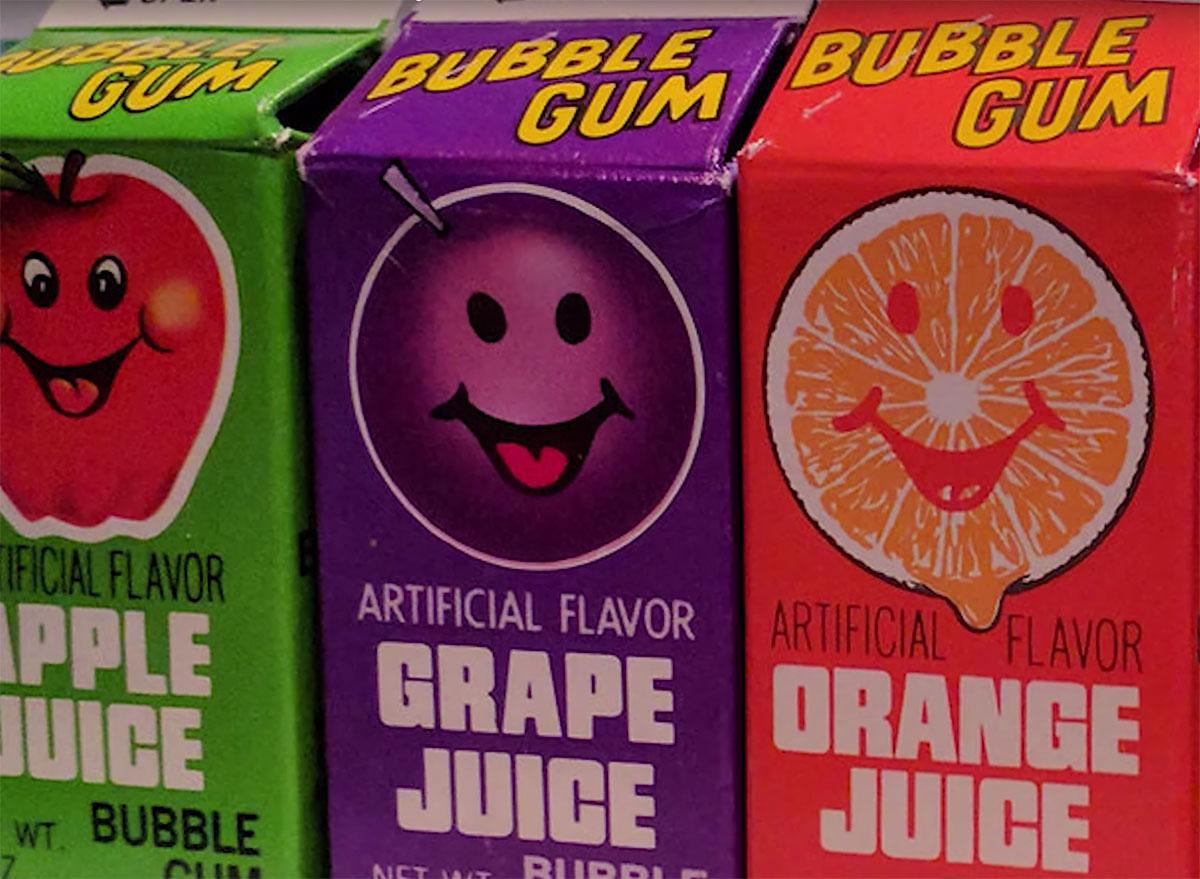 cartons of topps gum