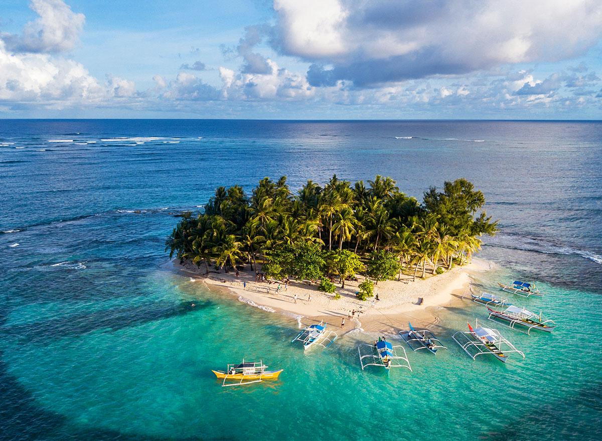 lung health tropical island