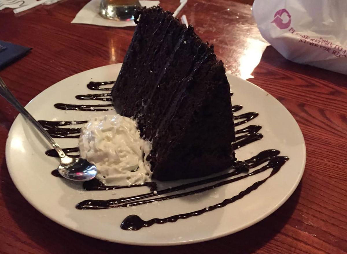 uno pizzeria awesome chocolate cake