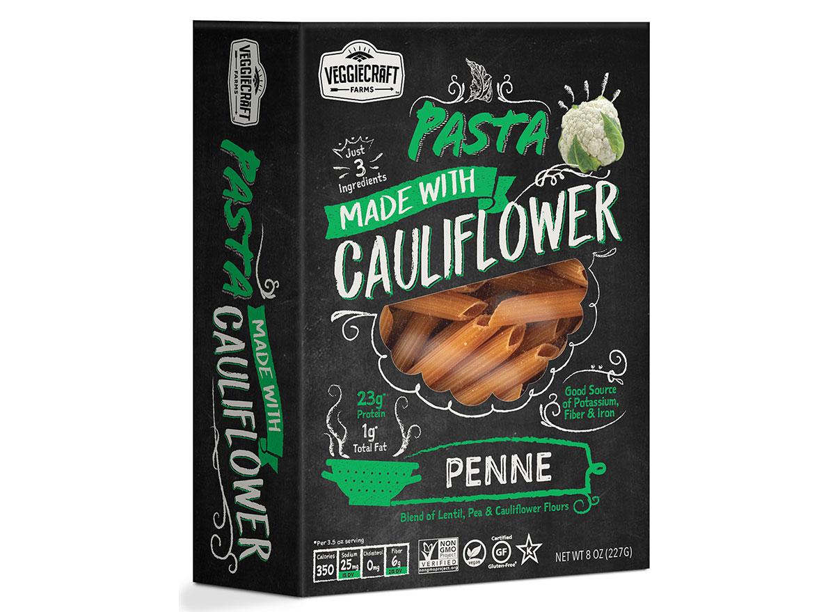 veggiecraft farms cauliflower pasta