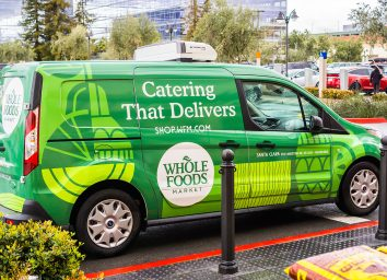 whole foods delivery truck
