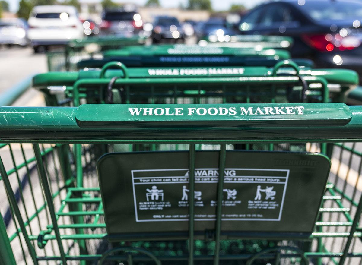 whole foods market cart