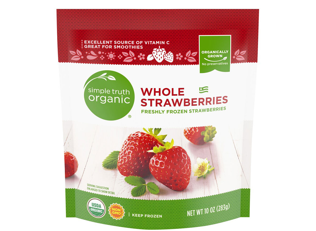 whole strawberries simple truth organic