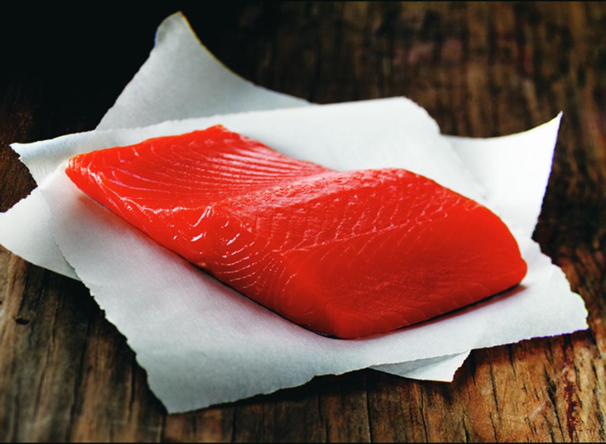 wild alaska king salmon