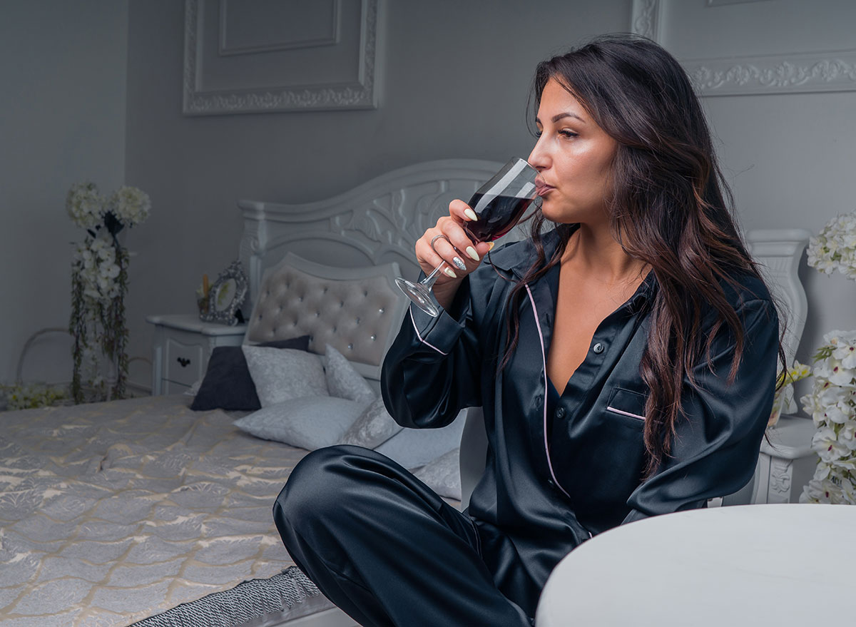 wine before bed