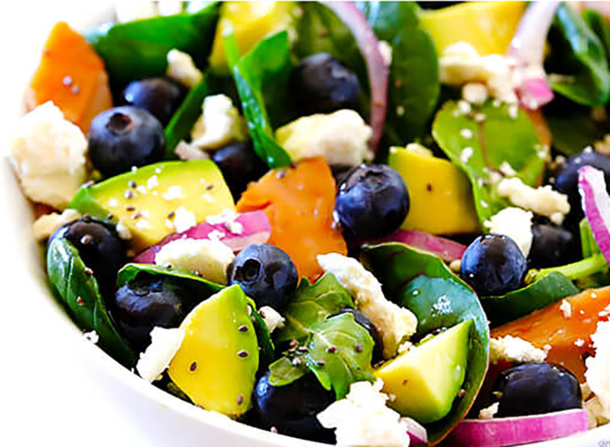 Brain power salad recipe from Gimme Some Oven