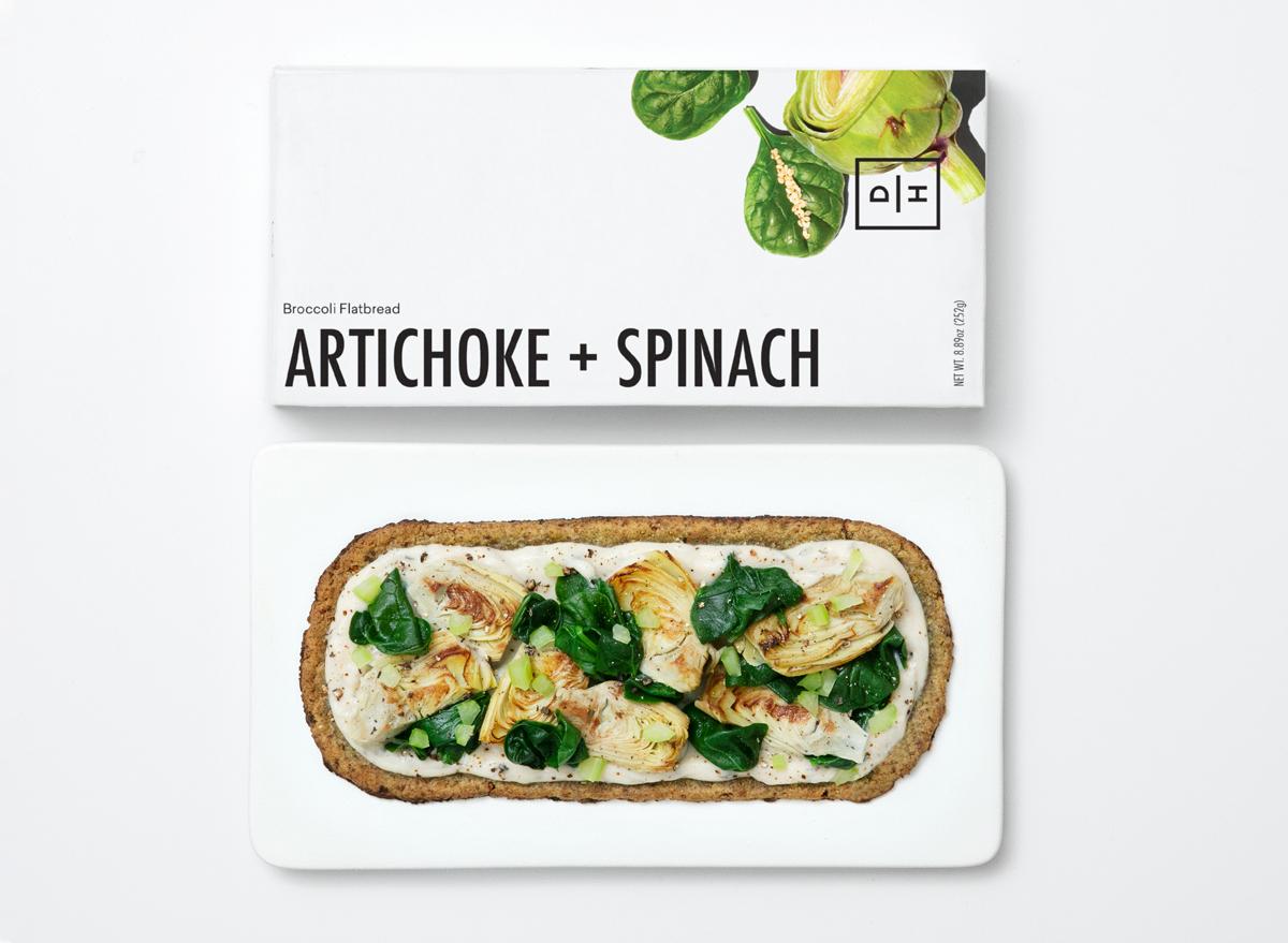 Daily harvest artichoke spinach flatbread