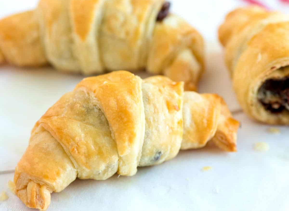 Chocolate croissant recipe from Inspired Taste
