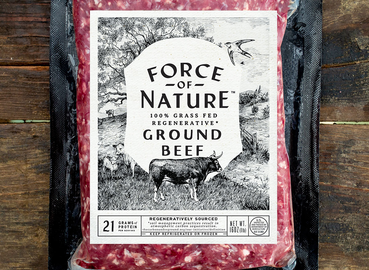 Force of Nature ground beef