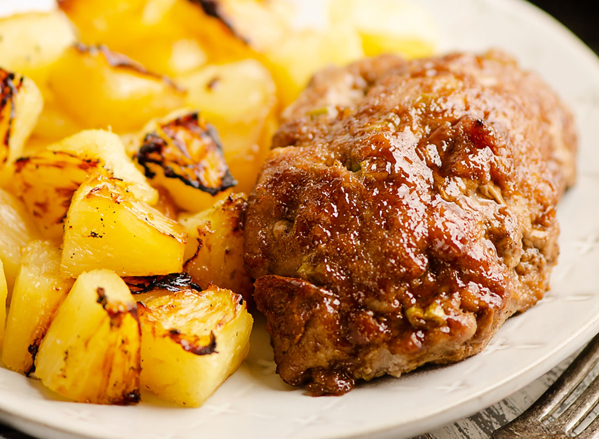Pineapple Meatloaf