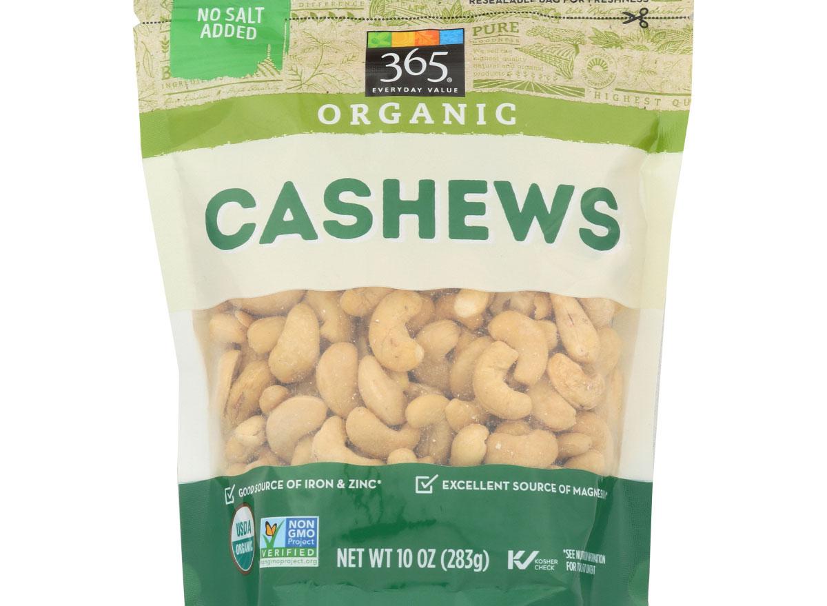 Organic cashews