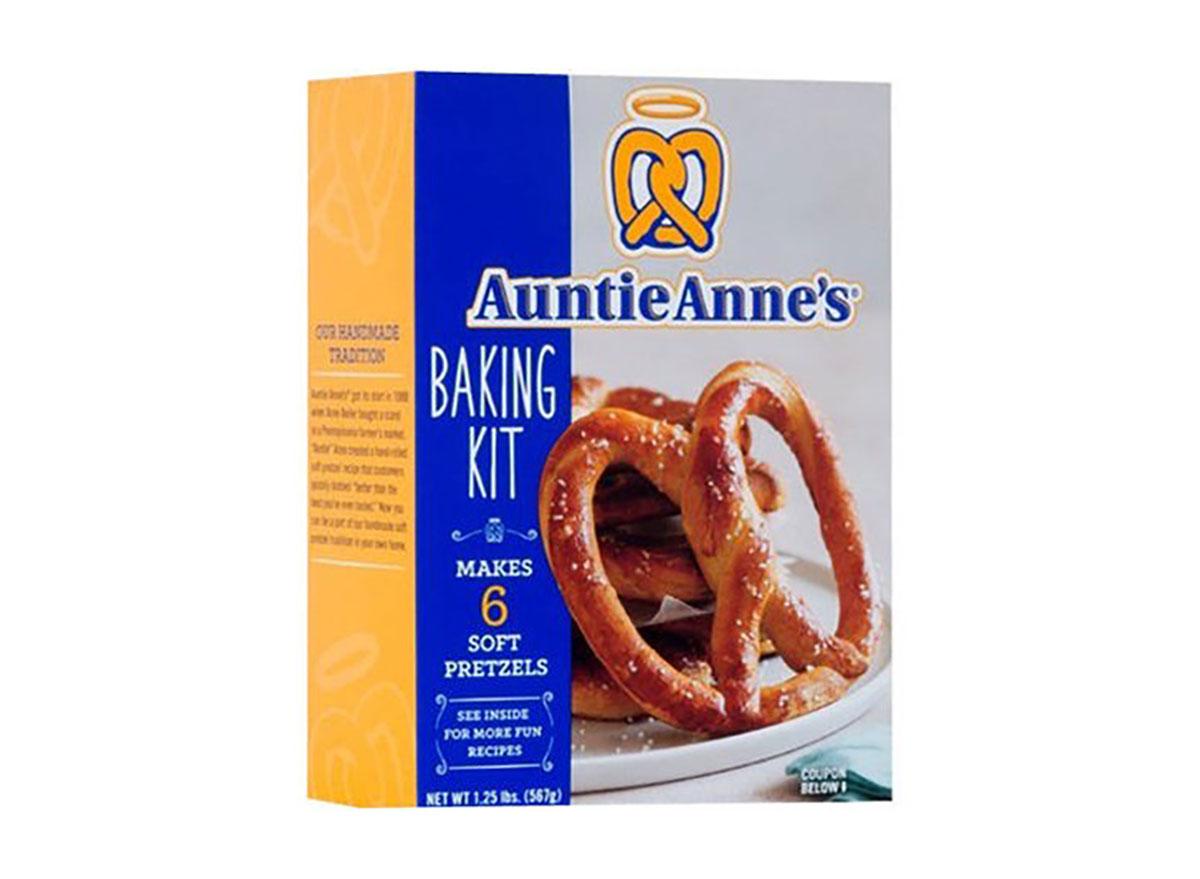 auntie annes pretzel baking kit