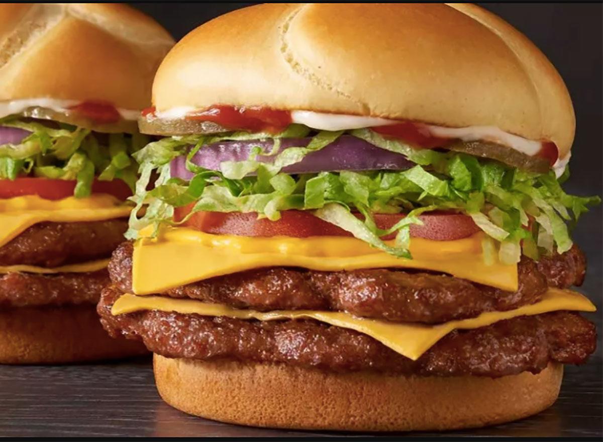 checkers big buford burger