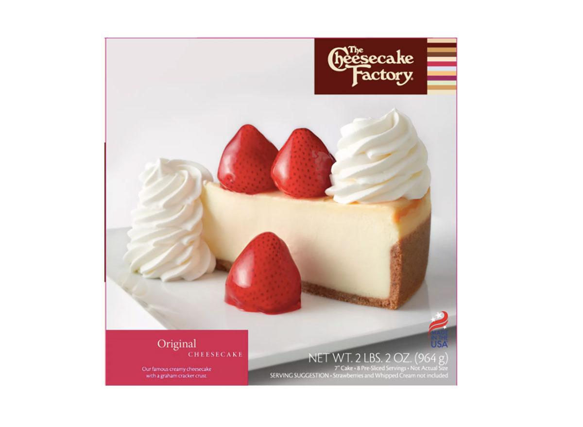 cheesecake factory box