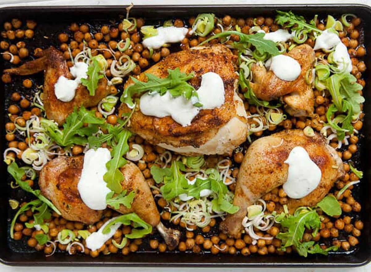 chicken sheet pan