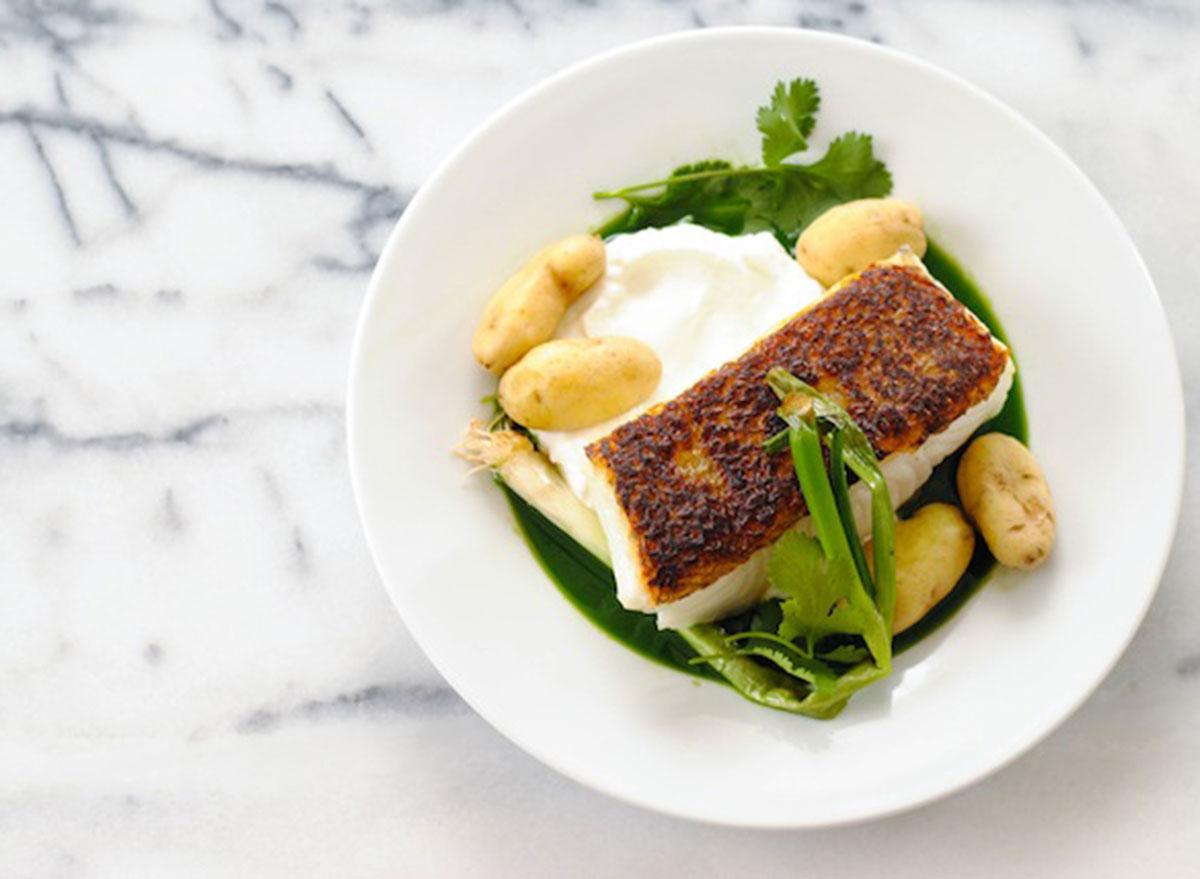 Good Friday recipes chilean sea bass