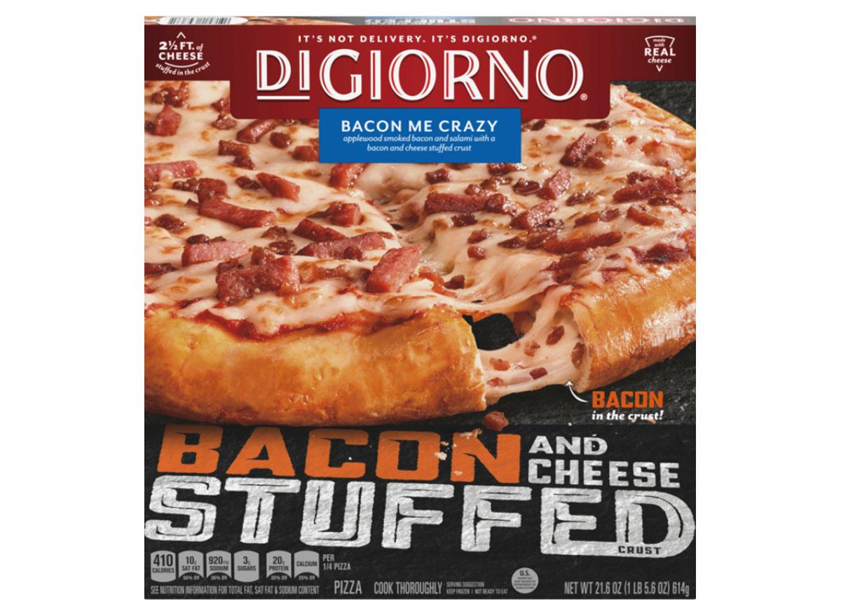 digiorno bacon me crazy pizza
