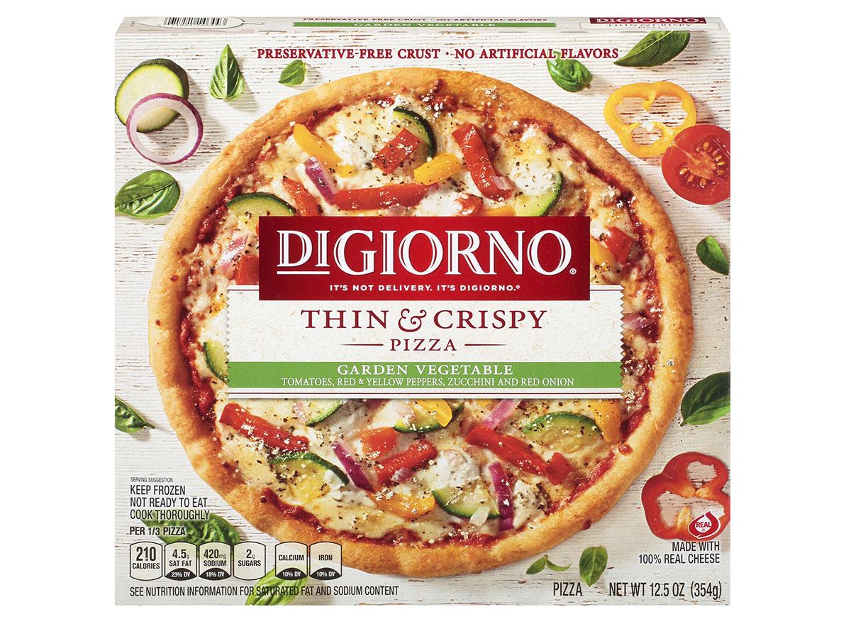 digiorno garden vegetable pizza