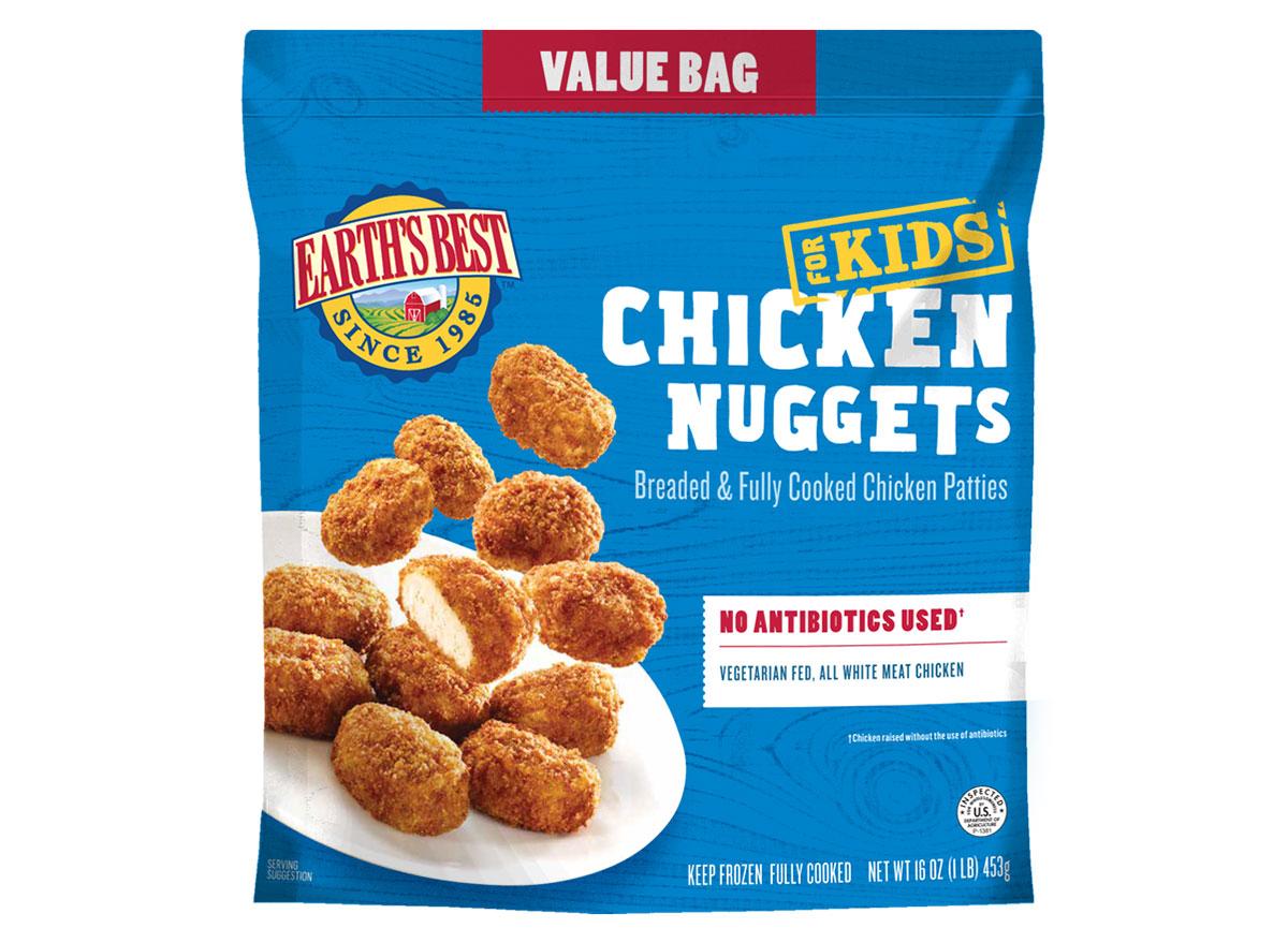 earths best kids chicken nuggets