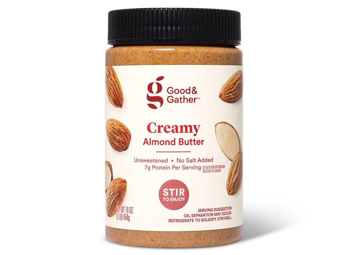 good gather almond butter