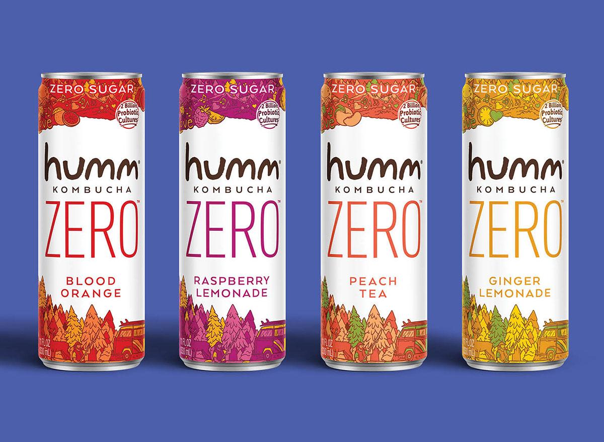 humm zero kombucha