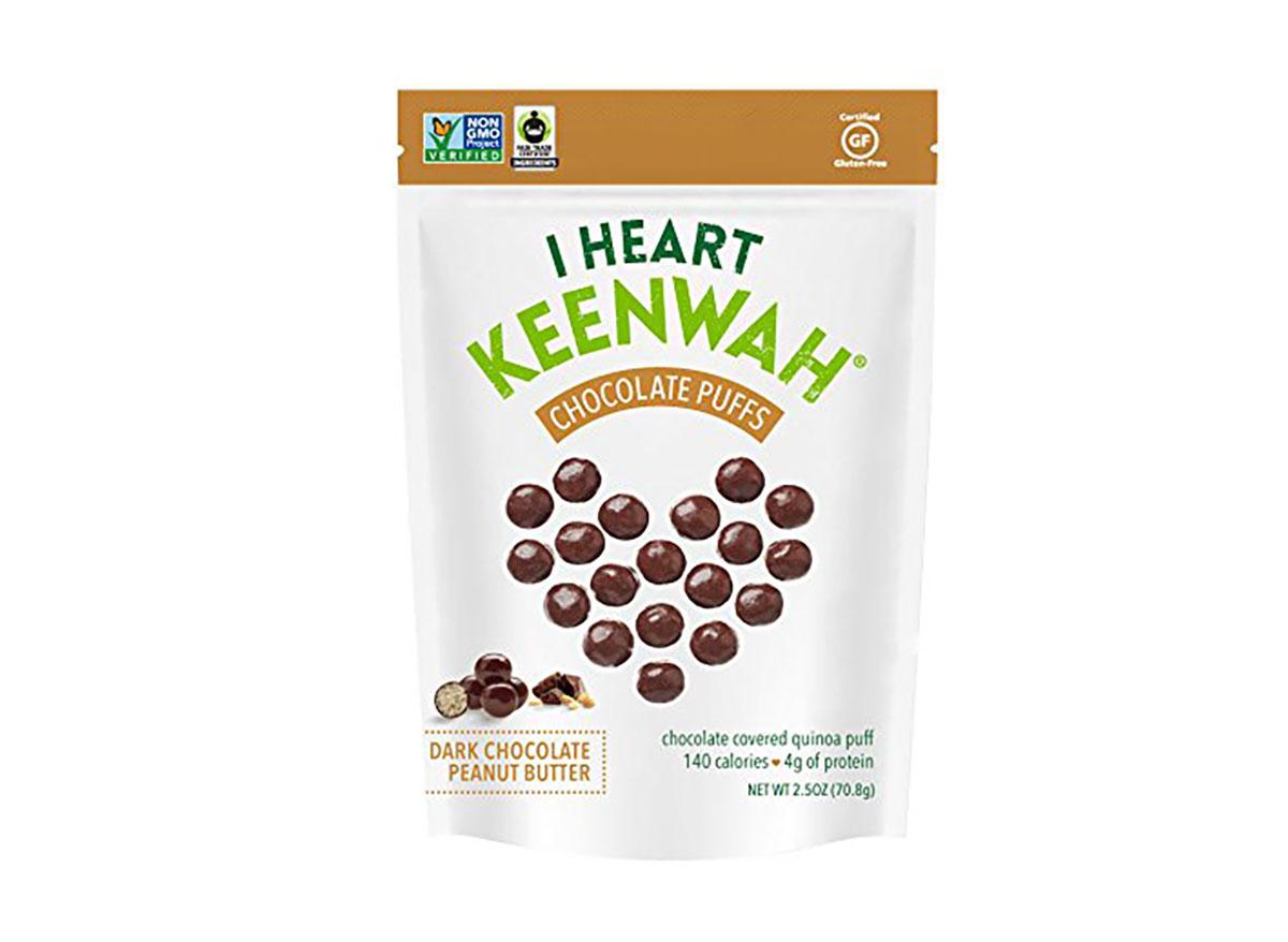 i heart keenwah chocolate puffs